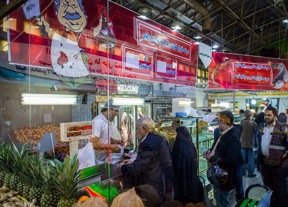 Iranians Line Up atDawn for a Sanctions Meal They Can Afford