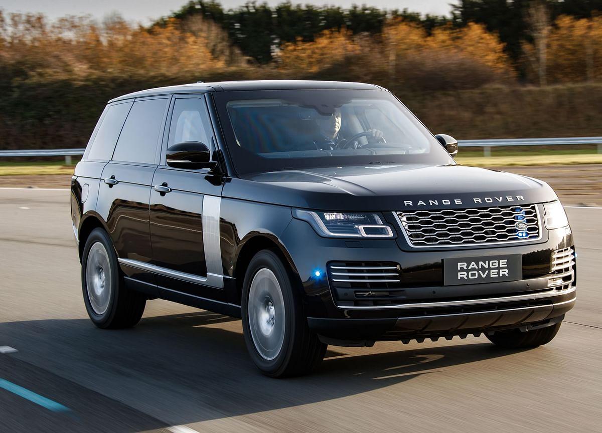 Bullet-Proof 2019 Range Rover Sentinel SUV Debuts Globally