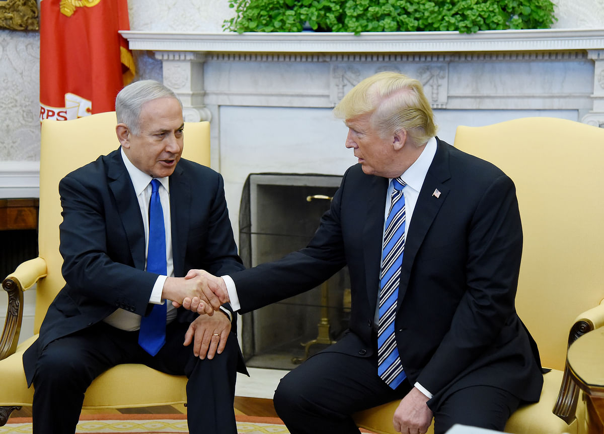 Trump Courts American Jews With Bid to Secure Netanyahu's Re-Election