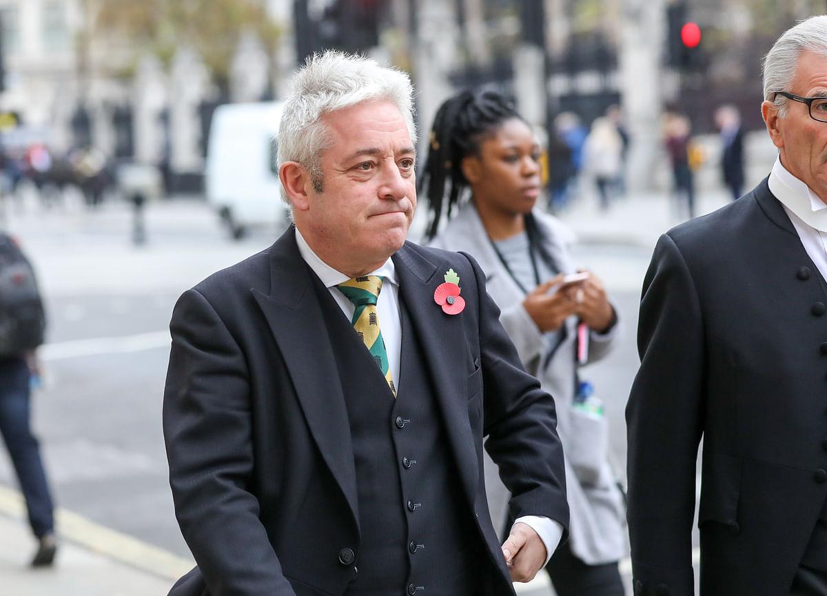 Meet May's Brexit Nemesis: U.K. ParliamentSpeaker JohnBercow
