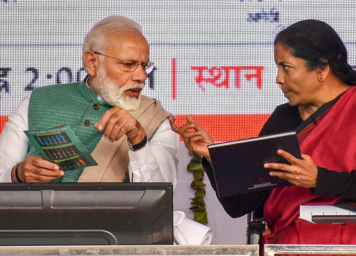 Prime Minister Modi Reviews State Of Economy With Sitharaman, Finance Ministry Officials