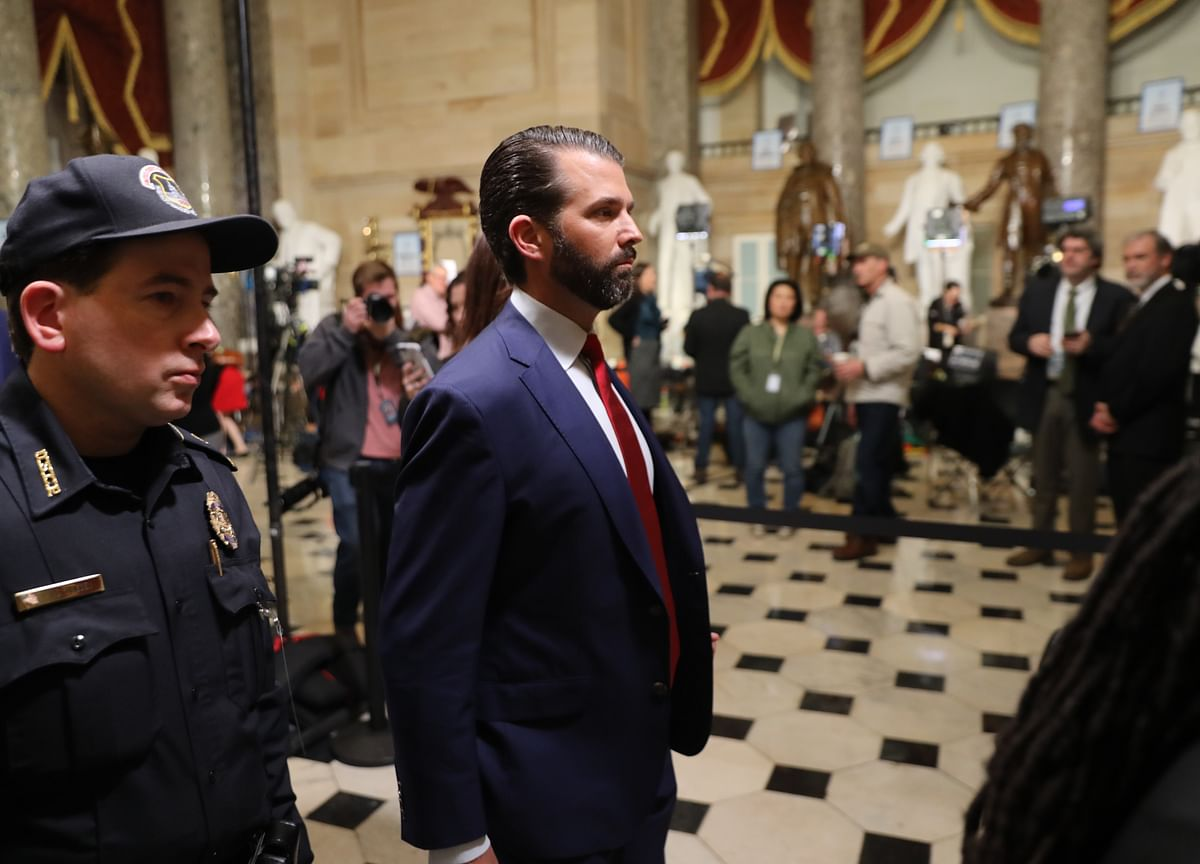 Donald Trump Jr., After Mueller, Talks of His Political Future