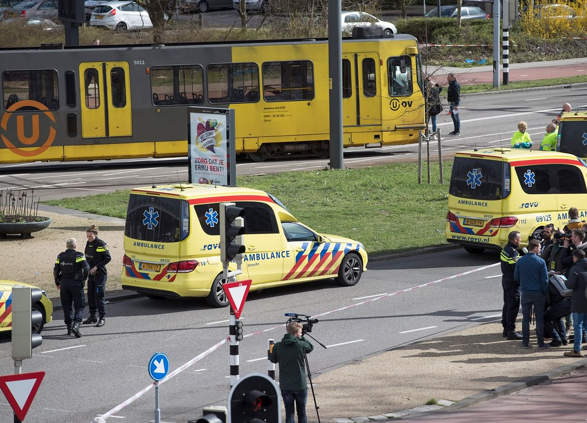 Gunman Kills Three On Dutch Tram, Mayor Says Terror Likely