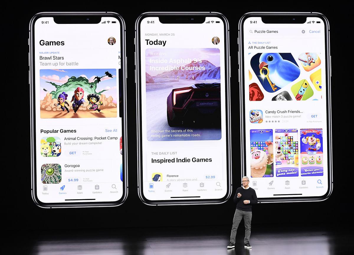 Apple Debuts Apple Arcade Gaming Subscription Service
