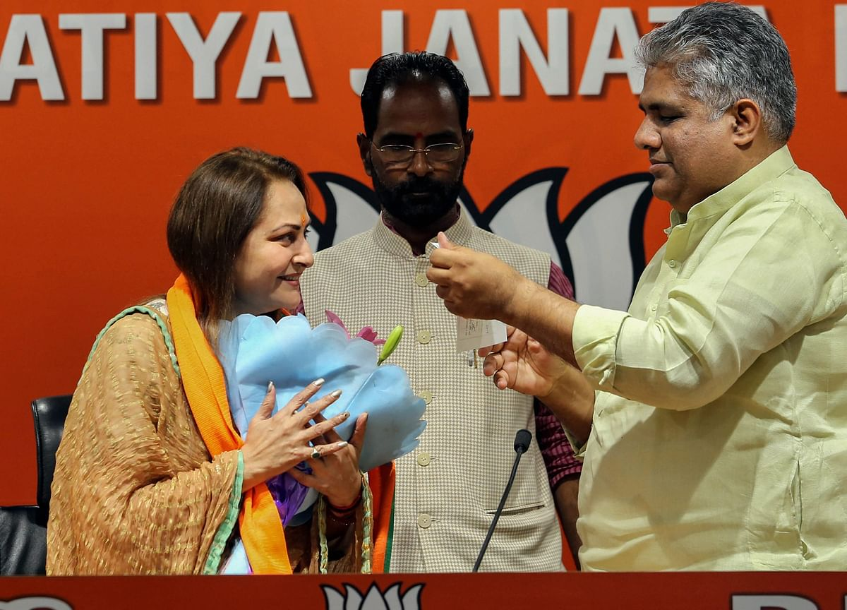 Actor-Turned-Politician Jaya Prada Joins BJP