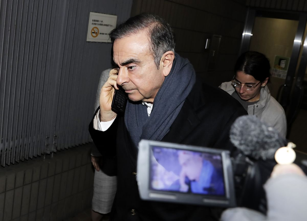 Ghosn Freed on Bail Again After Being Jailed on Fresh Charges