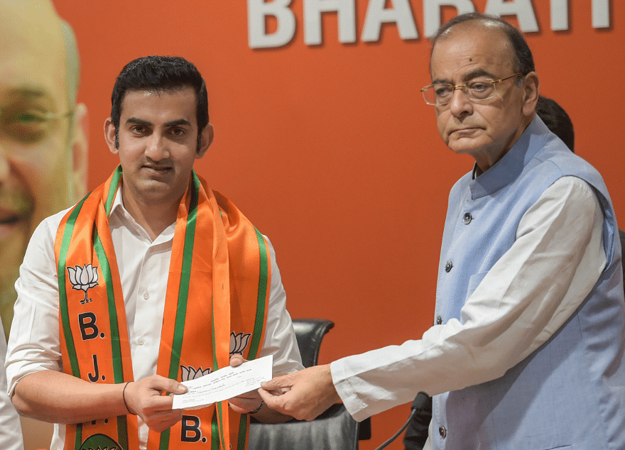 Election 2019: BJP Fields Gautam Gambhir, Meenakshi Lekhi From Delhi