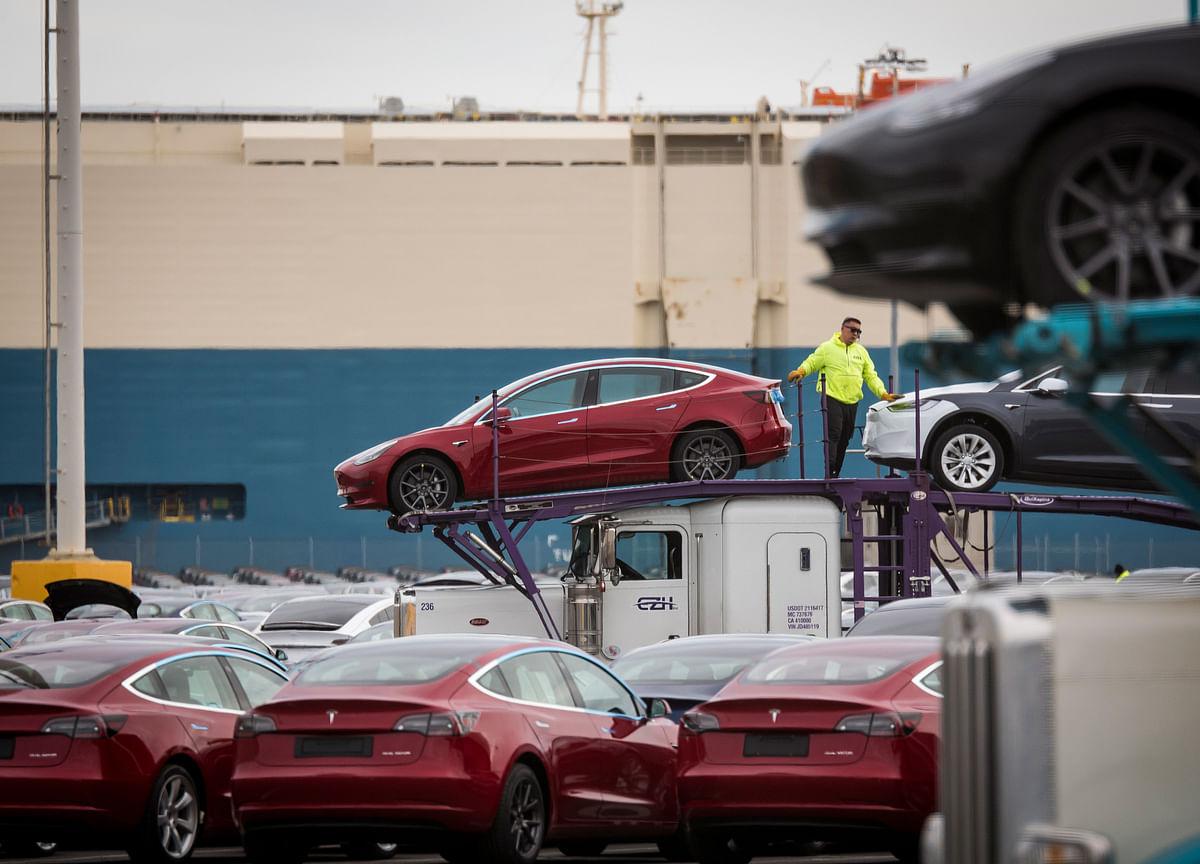 Tesla Plunges 11% as Delivery Drop Deepens Demand Concerns