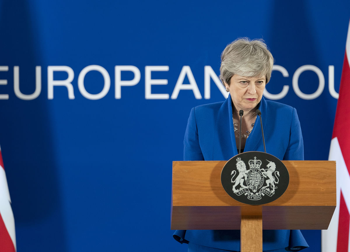 May Poised to Admit Defeat Over Plan to Avoid European Election