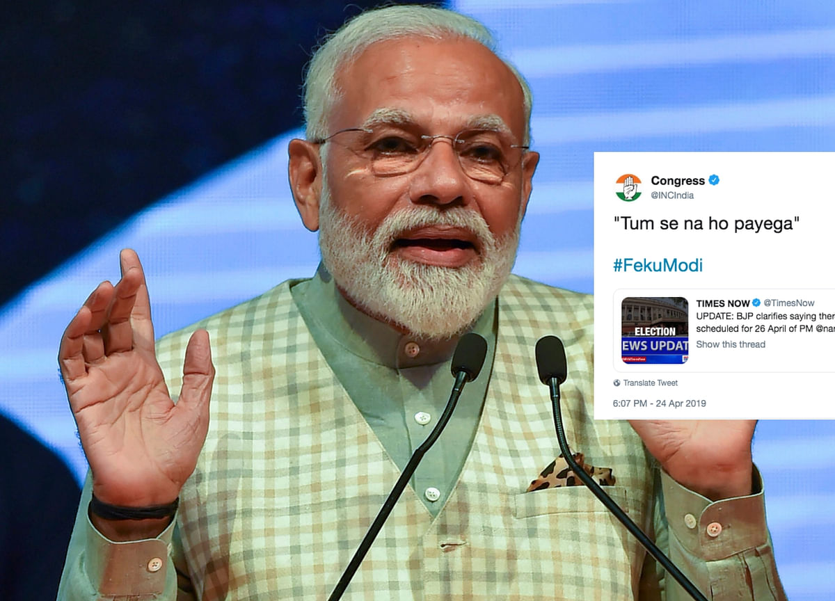 'Tum Se Na Ho Payega': Cong on PM's First Press Conference Buzz