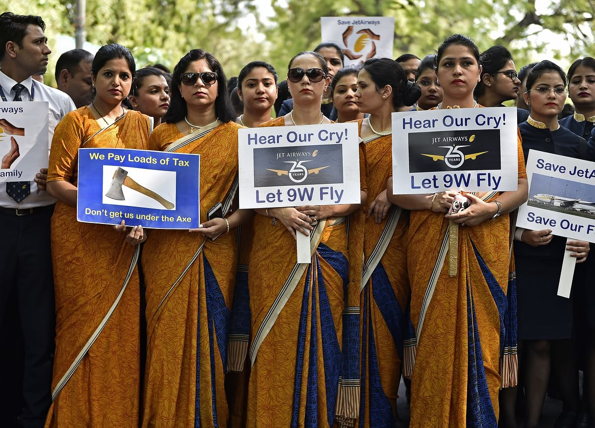 Jet Airways Employees Seek President Kovind And PM Modi's Intervention