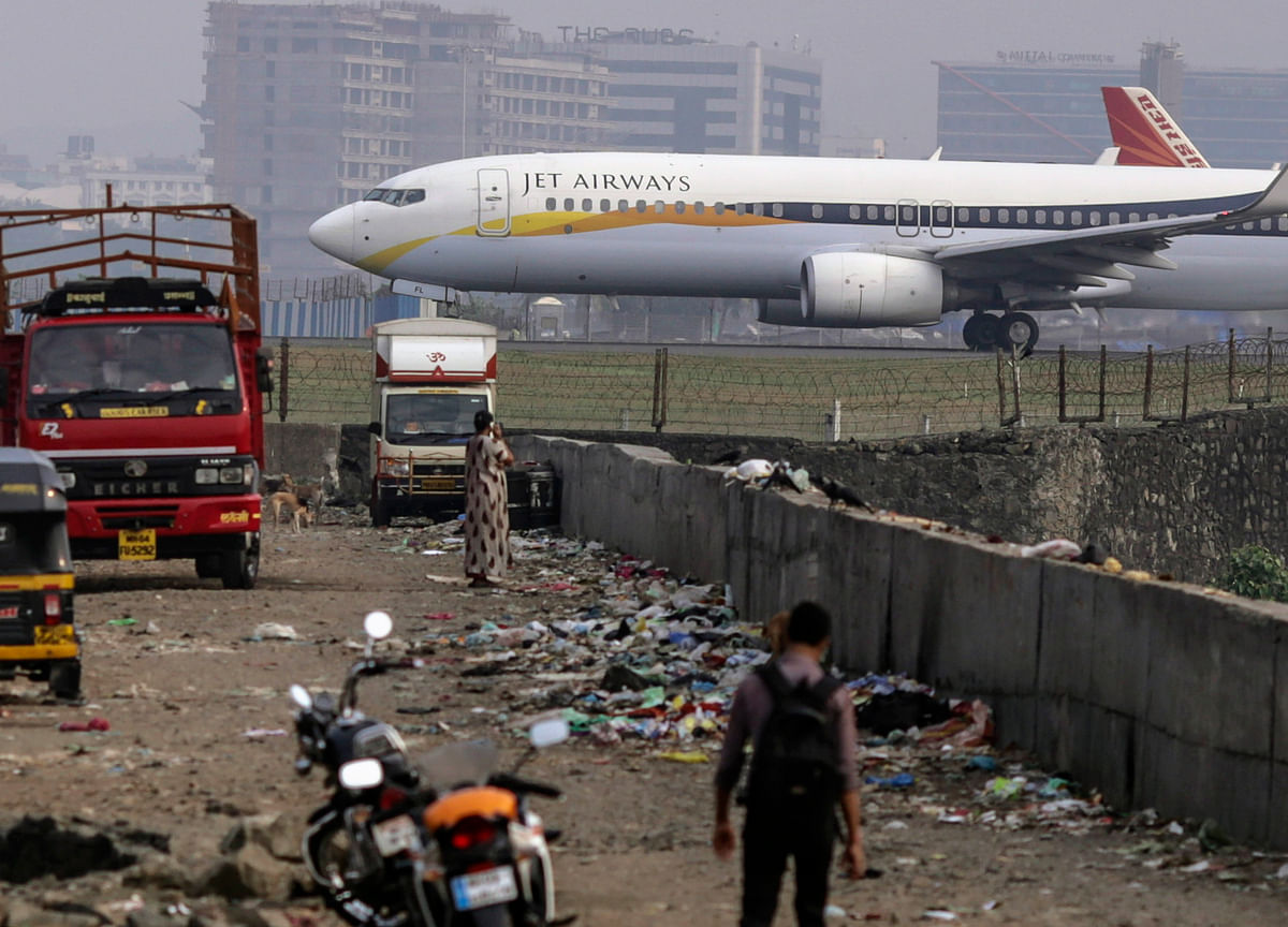 Jet Airways Shares Fall Nearly 41% As Airline Lands In Bankruptcy Court