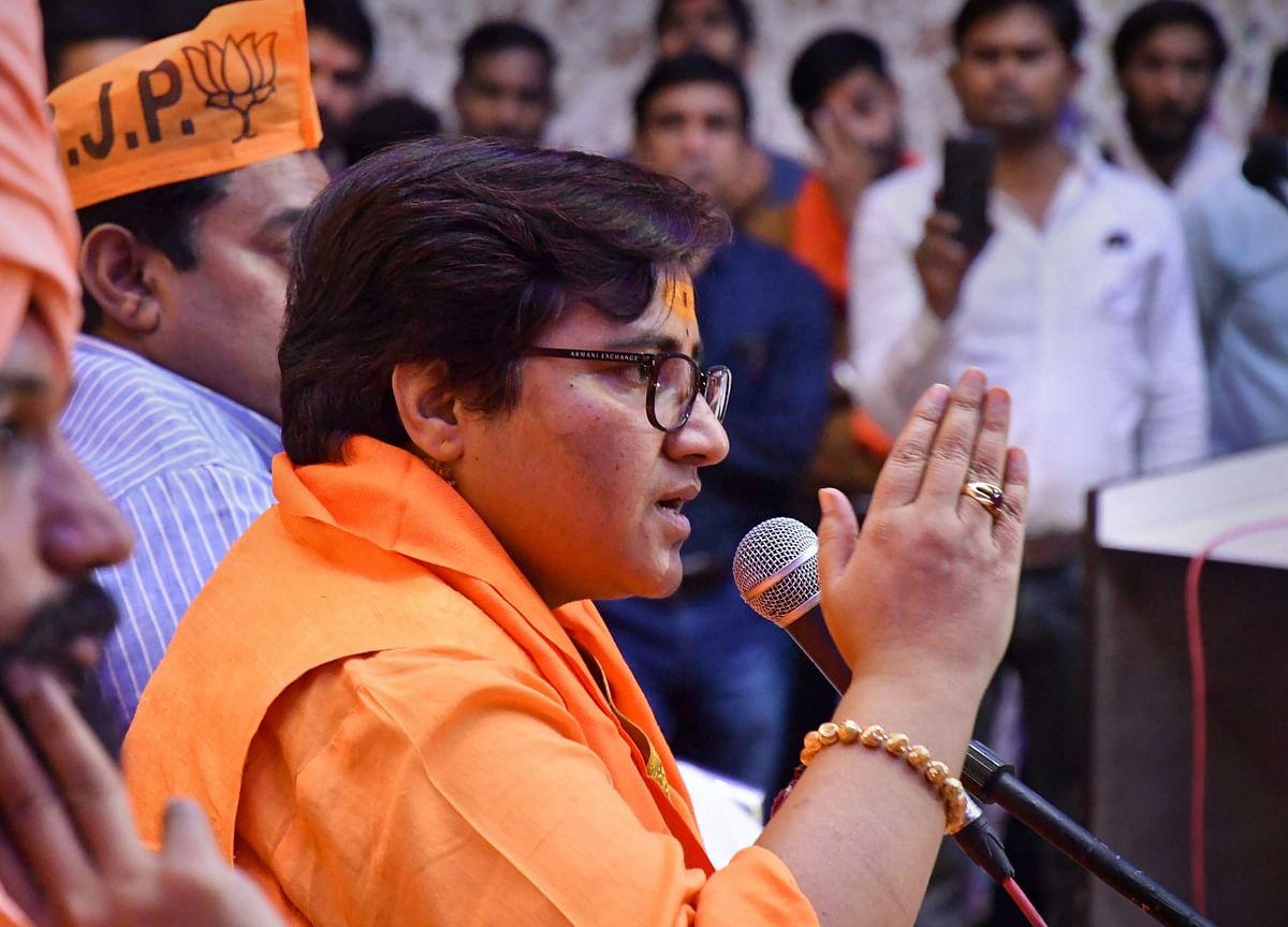 Election 2019: FIR Filed Against Sadhvi Pragya For Babri Masjid Remark
