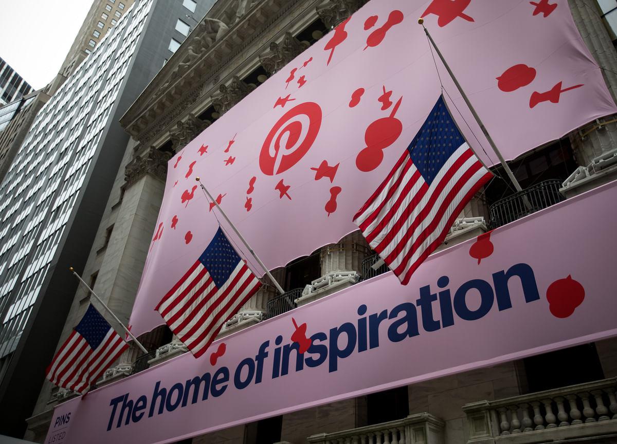 Pinterest Soars in Debut in 2019's Second-Biggest U.S. IPO