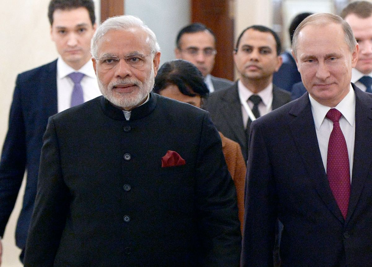 PM Modi Awarded Russia's Highest State Honour, Order of St Andrew