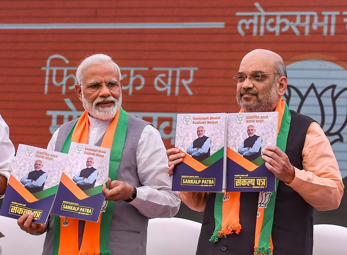 How BJP's Poll Promises Changed Over Five Years