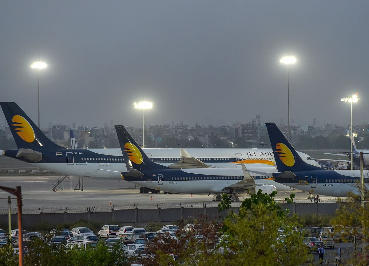 Jet Airways' Plane Saved From De-Registration By NCLT