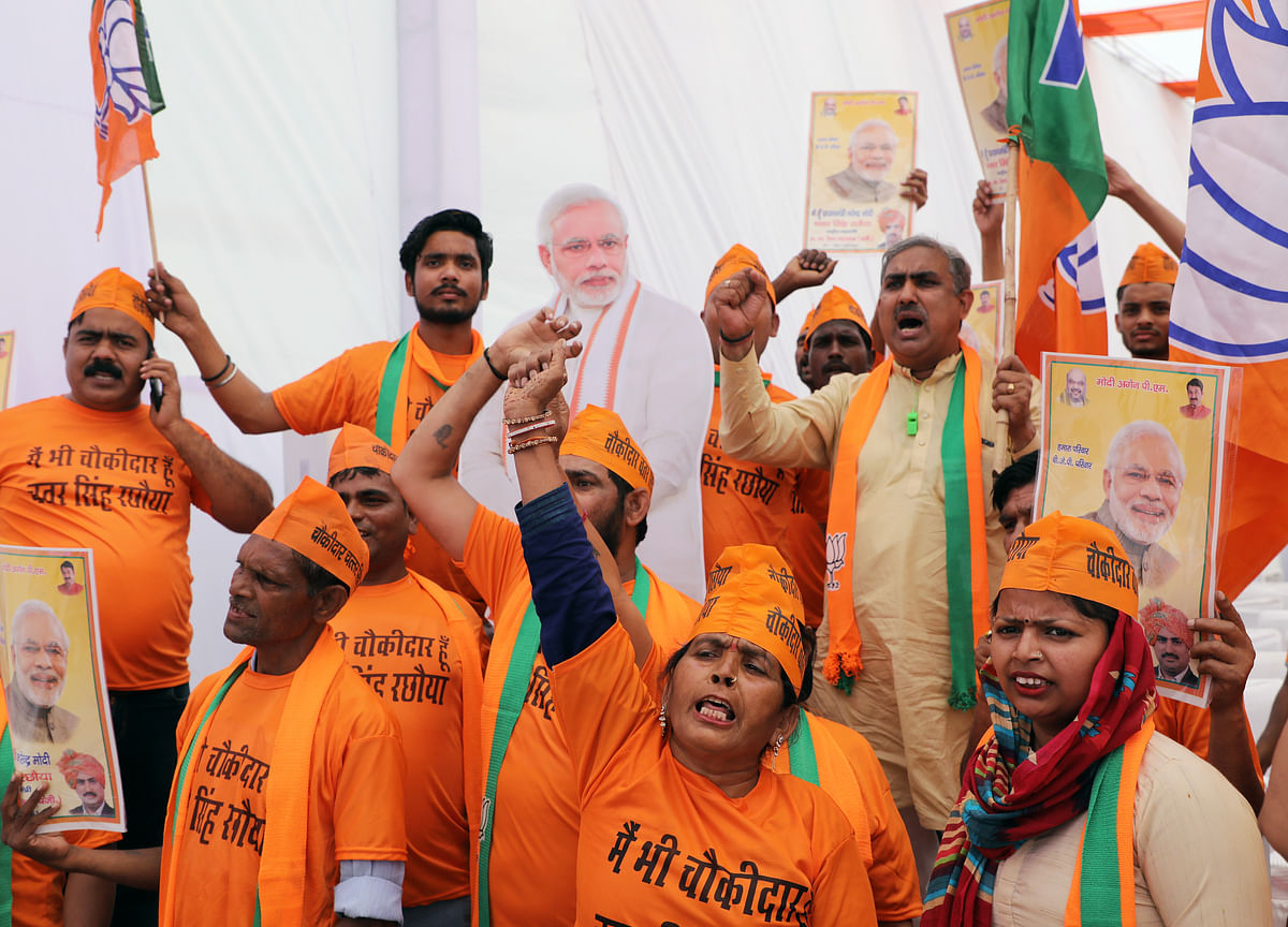 1.1 Million BJP Workers Trained to Lure Electors: India Votes