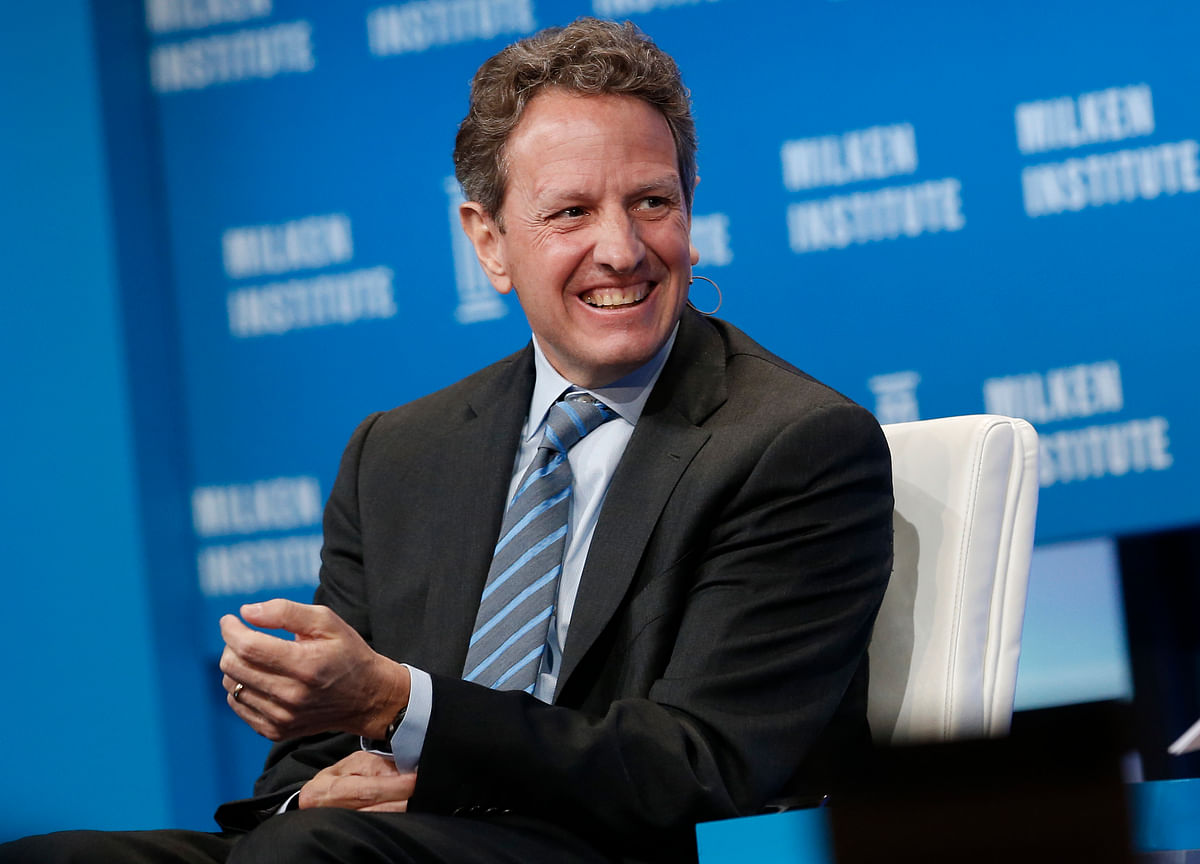 Geithner Says U.S. Expansion Can Continue Absent 'Dumb Mistakes'