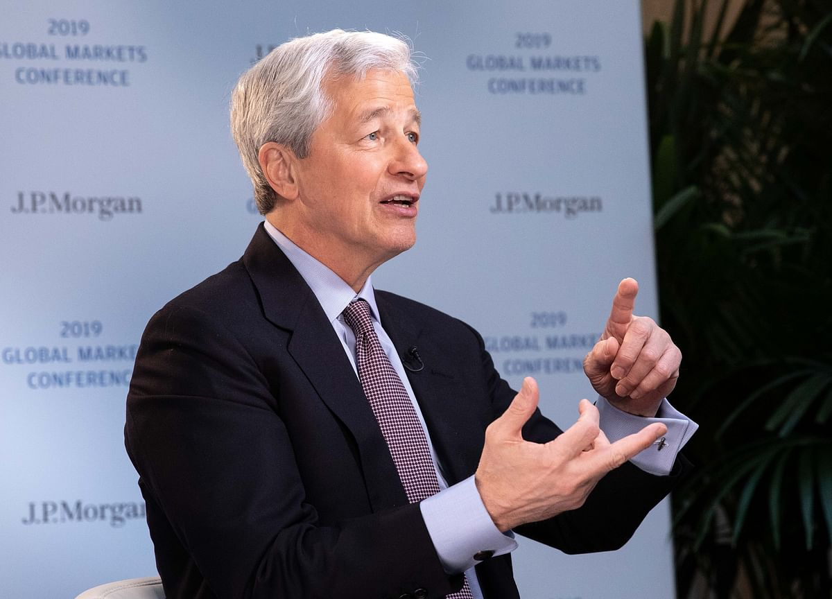 Dimon Sees Recent Volatility as Harbinger of Things to Come