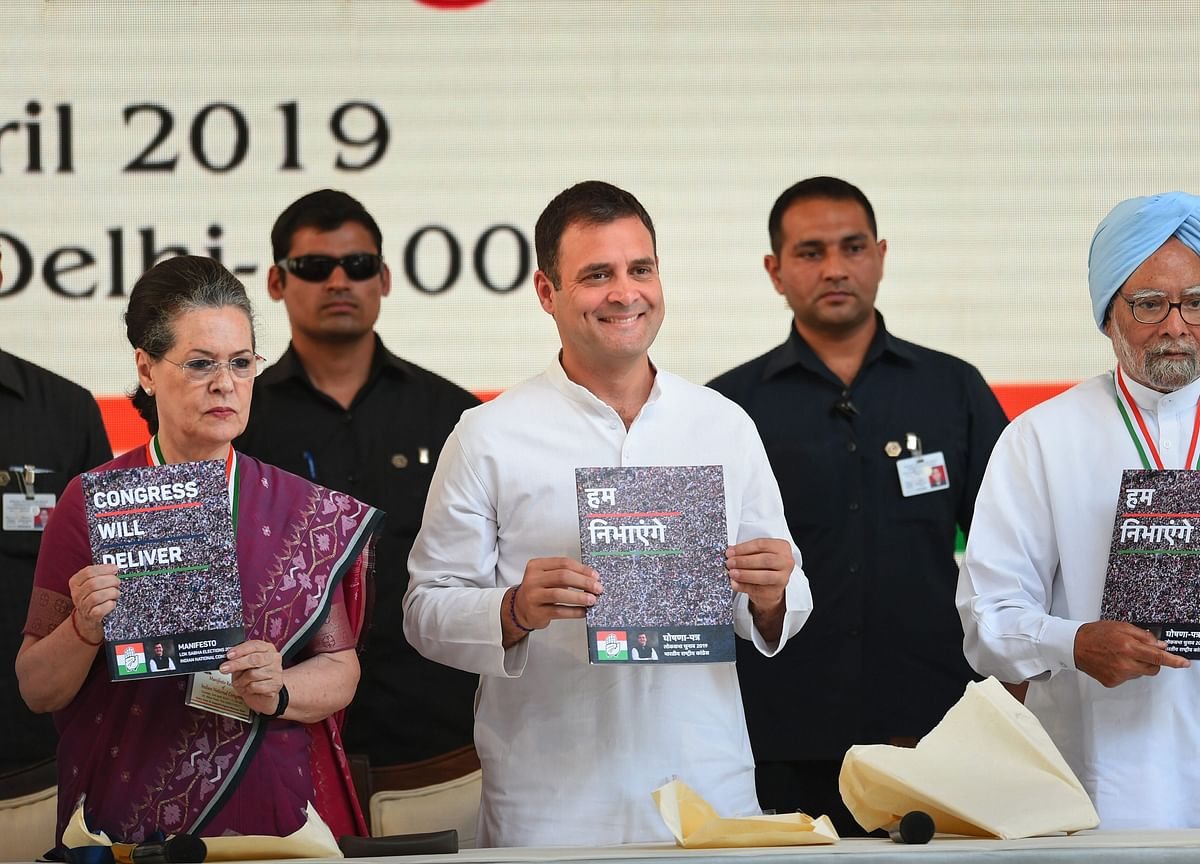 Elections 2019: Congress Raises Stakes With Detailed Manifesto, Will BJP Follow?
