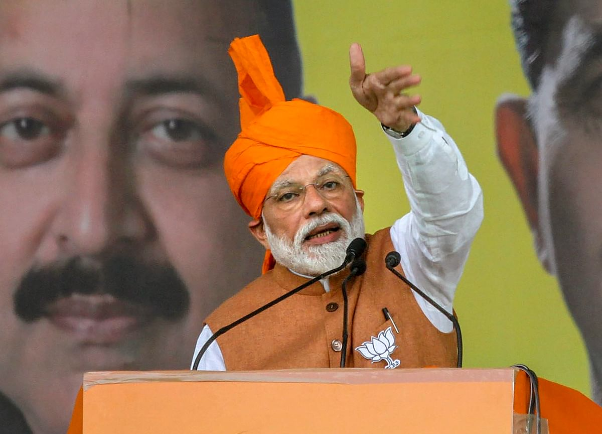 Modi Urges Supporters to Punish India's Opposition for Terror Slur
