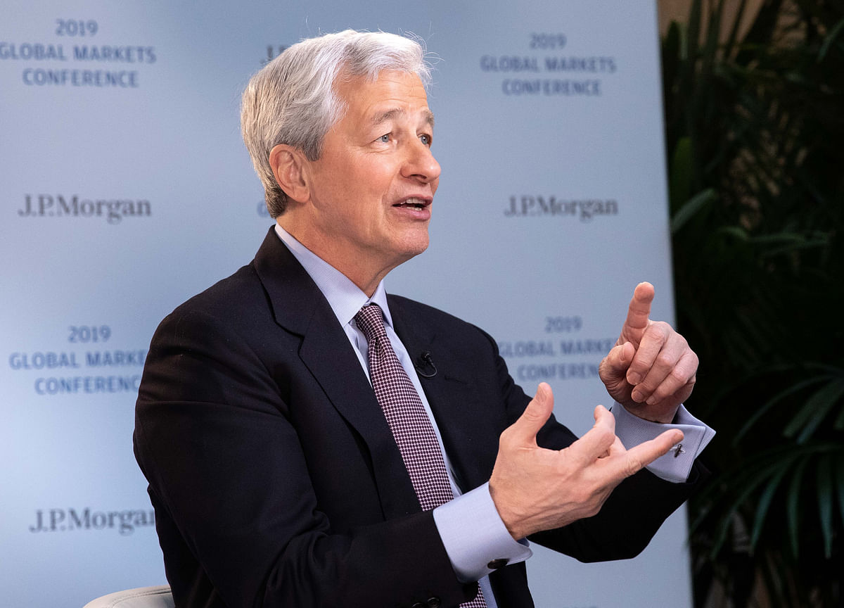 Dimon Weighed Presidential Run for Much of 2018, Report Says
