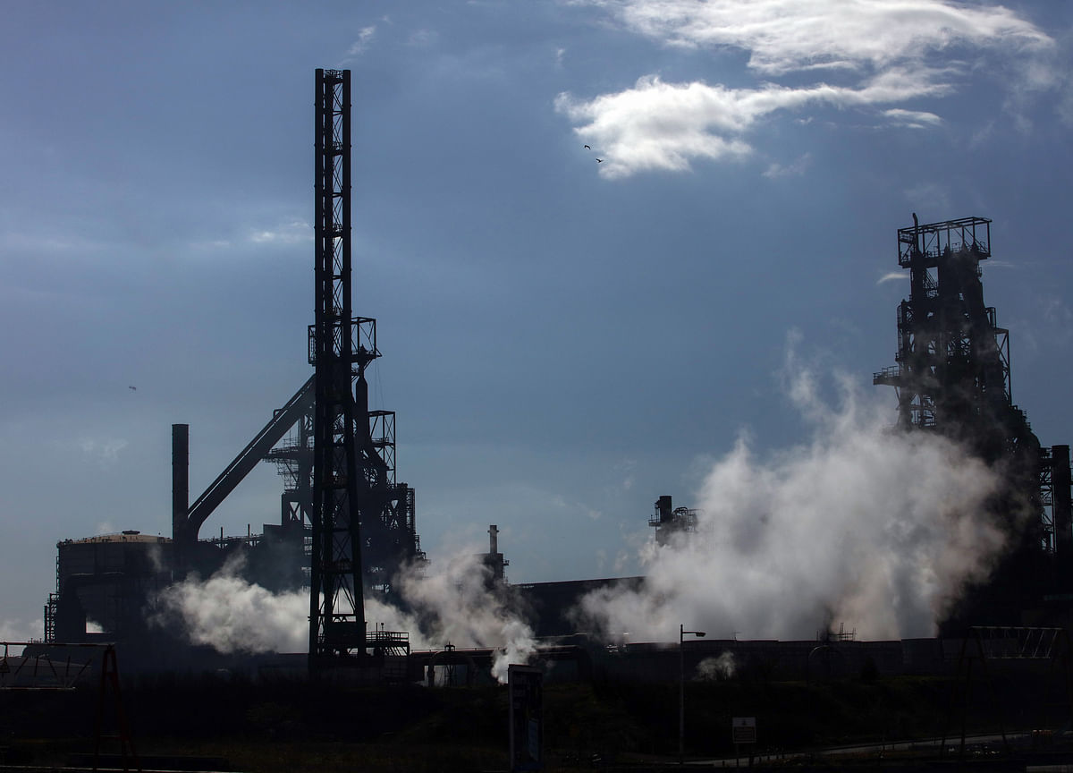 Tata Steel Says Extinguishes Fires After Spillage at Wales Mill