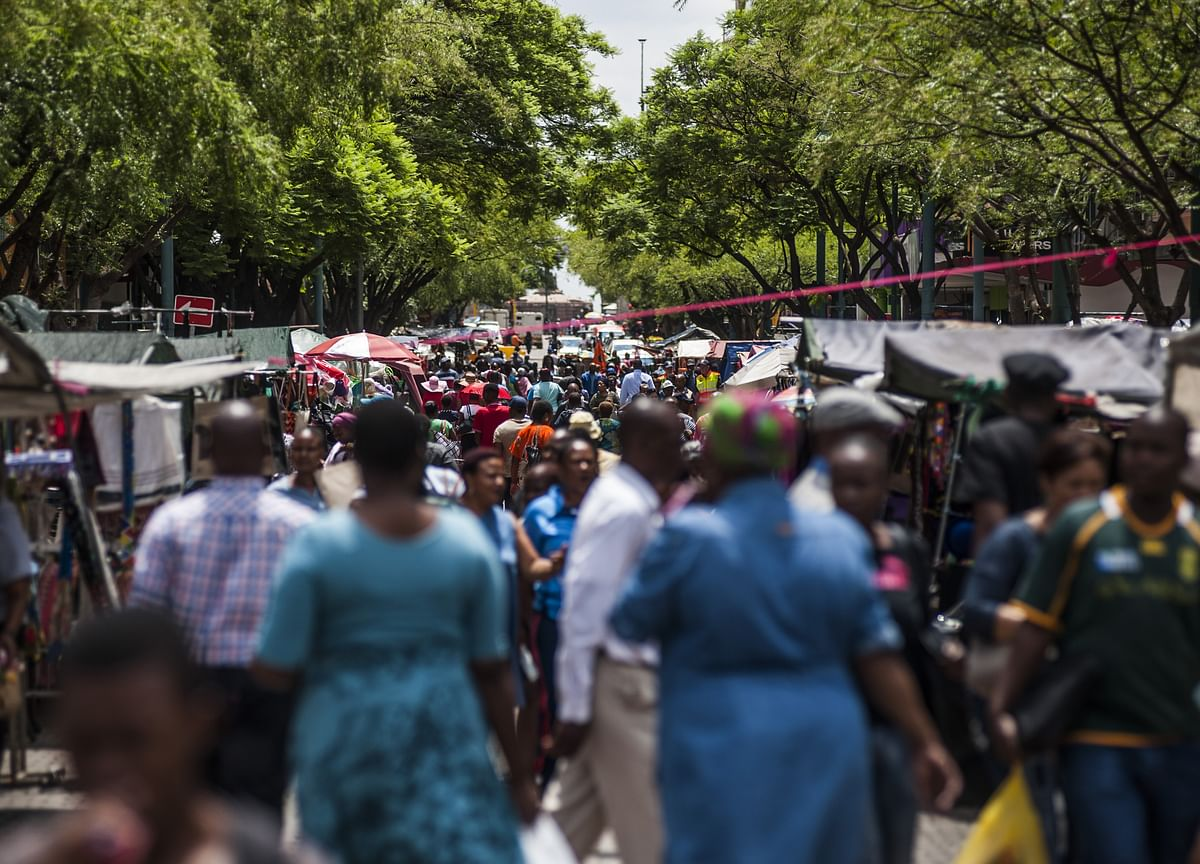 SouthAfrica's Decline Is Worst Among Nations Not at War, Model Shows