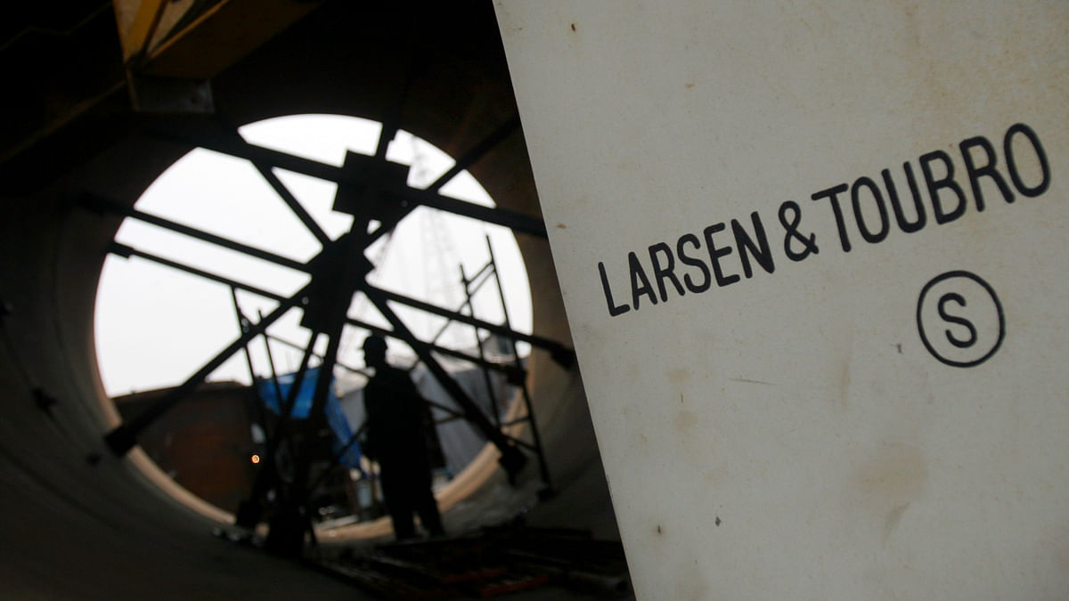 Why L&T Is On Track To Post Best Monthly Gains In Seven Years