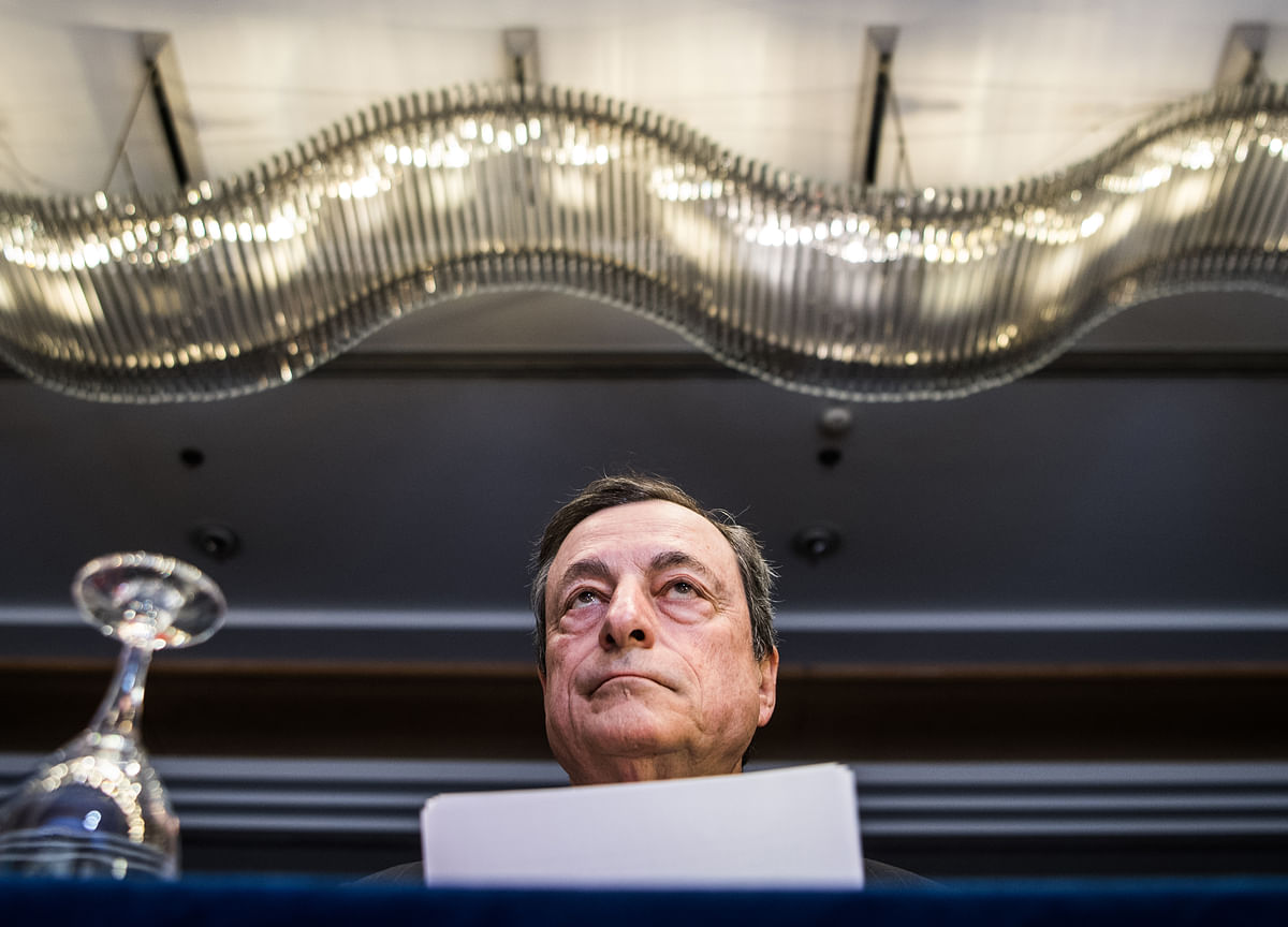 Pity for Draghi Mounts in Despair at Europe's Growth Inertia