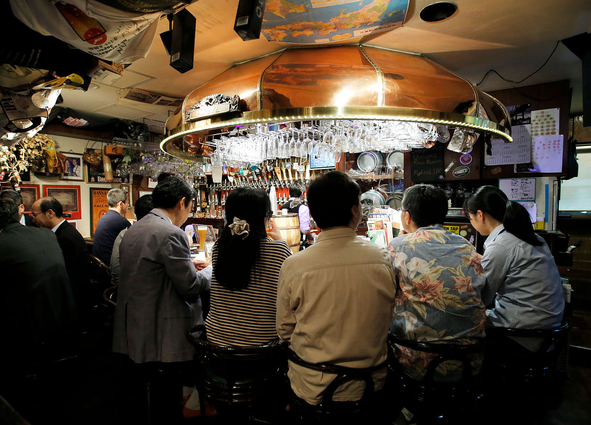 No More Happy Hour: Japan Bank Boss Takes Aim at Drinks Culture