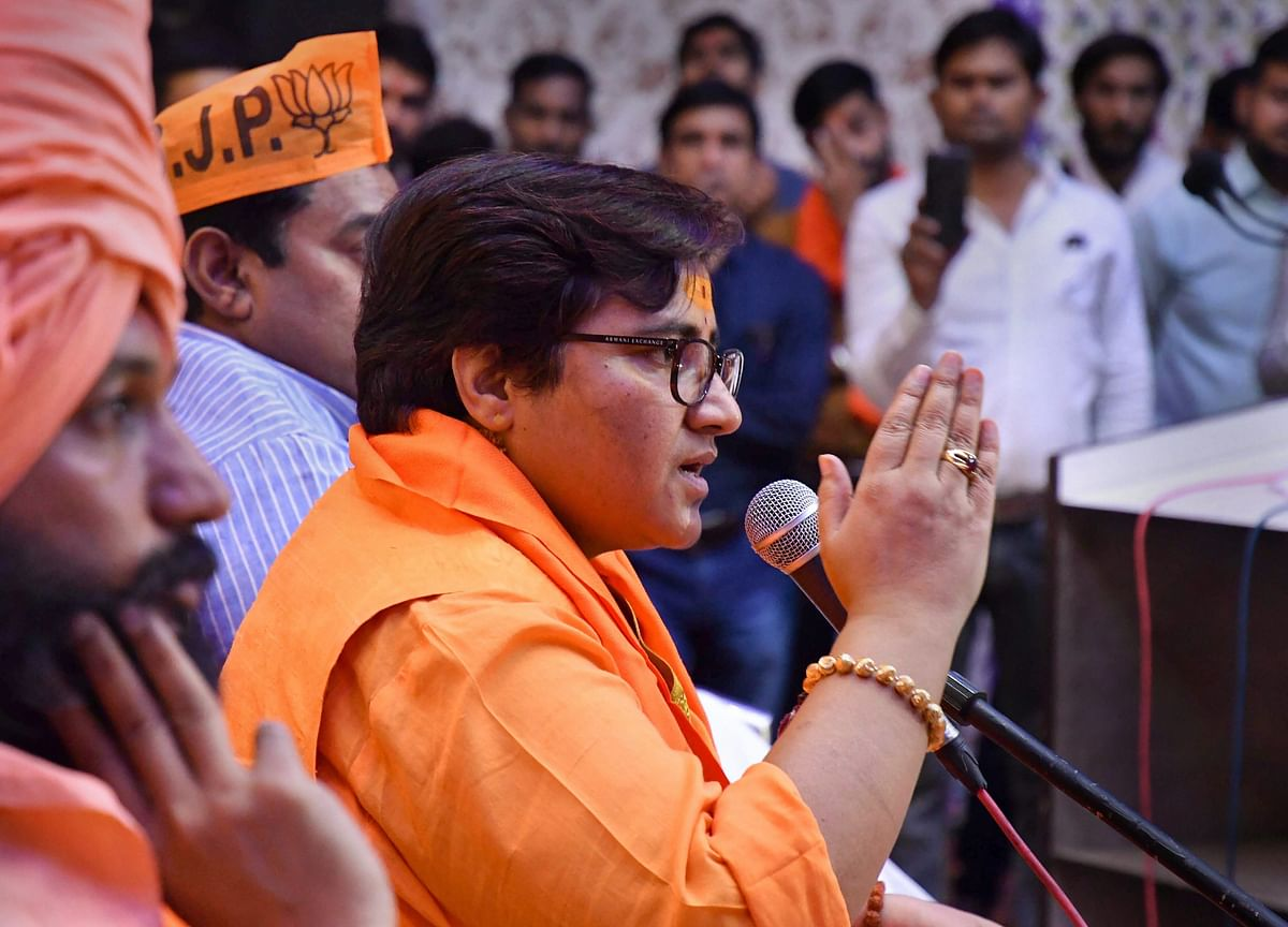 Congress Attacks BJP For Fielding Terror-Accused Pragya As Candidate