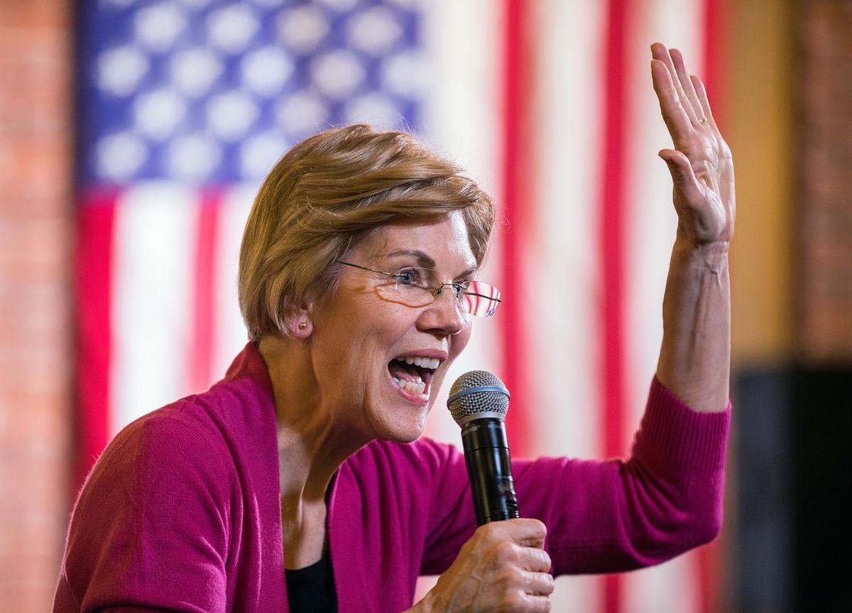 Elizabeth Warren Calls for House to Begin Impeachment of Trump