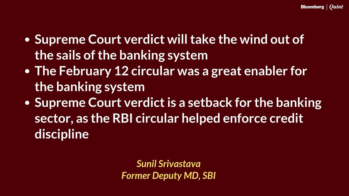 Supreme Court Strikes Down RBI's Feb. 12 Circular