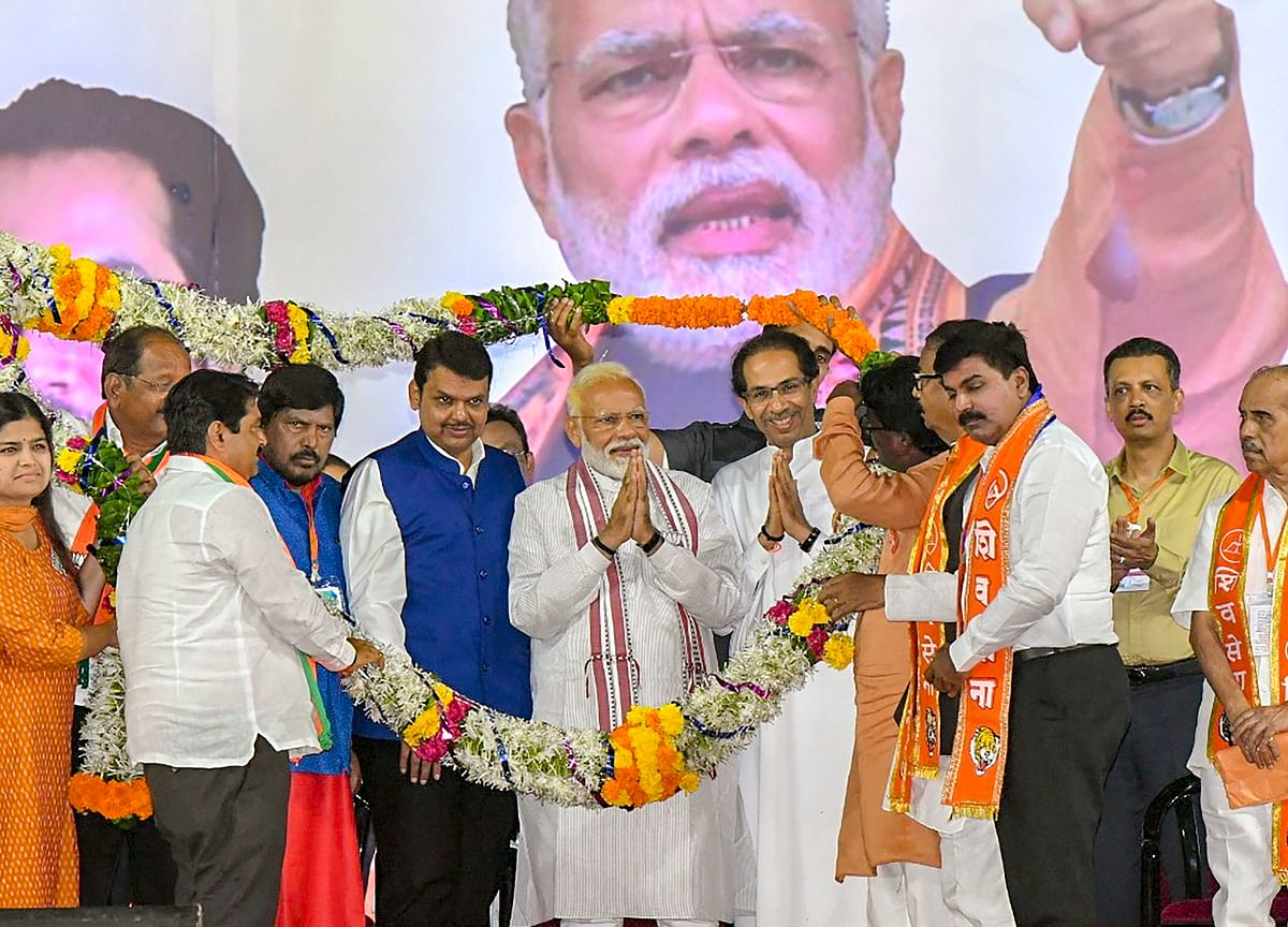 Elections 2019: Only Question For BJP Is If It Can Better Its Own Tally From 2014, Says Modi In Mumbai