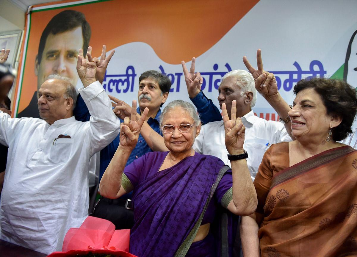 Election 2019: Congress Announces Candidates For Delhi, Names Sheila Dikshit, Ajay Maken, Vijender Singh