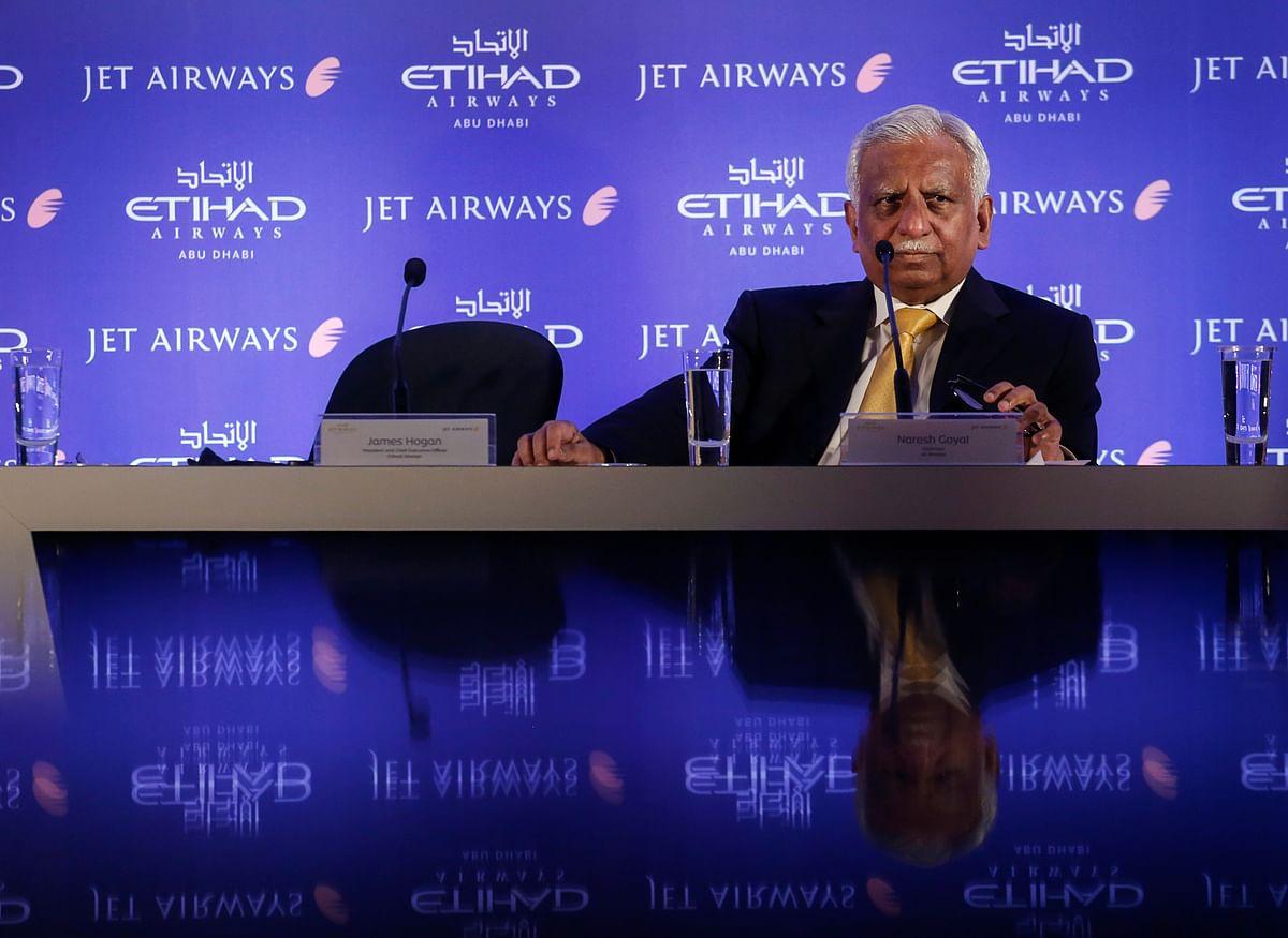 Jet Airways founder Naresh Goyal. (Photographer: Vivek Prakash/Bloomberg)