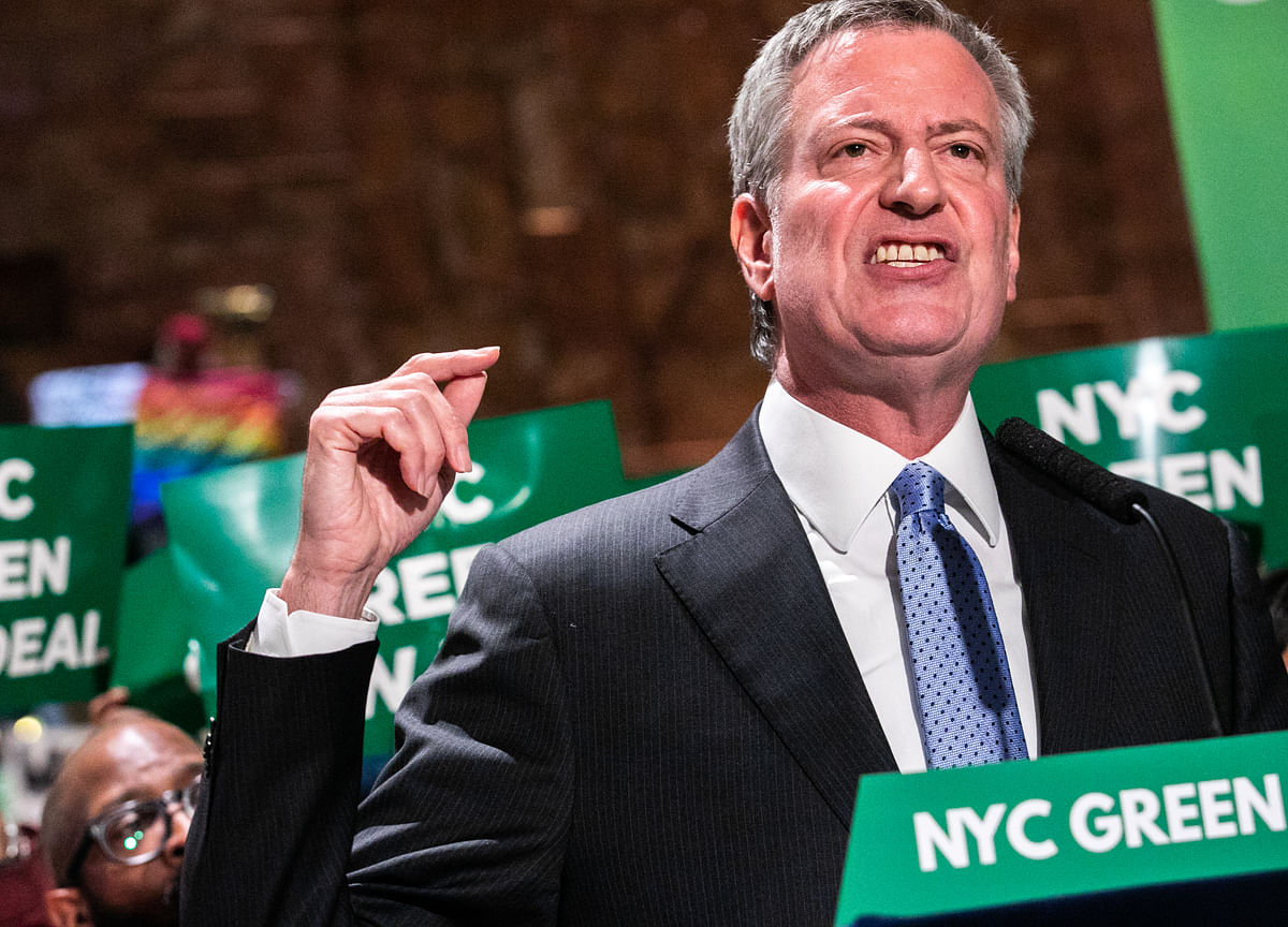 New York Mayor De Blasio Jumps Into Crowded Democratic 2020 Race