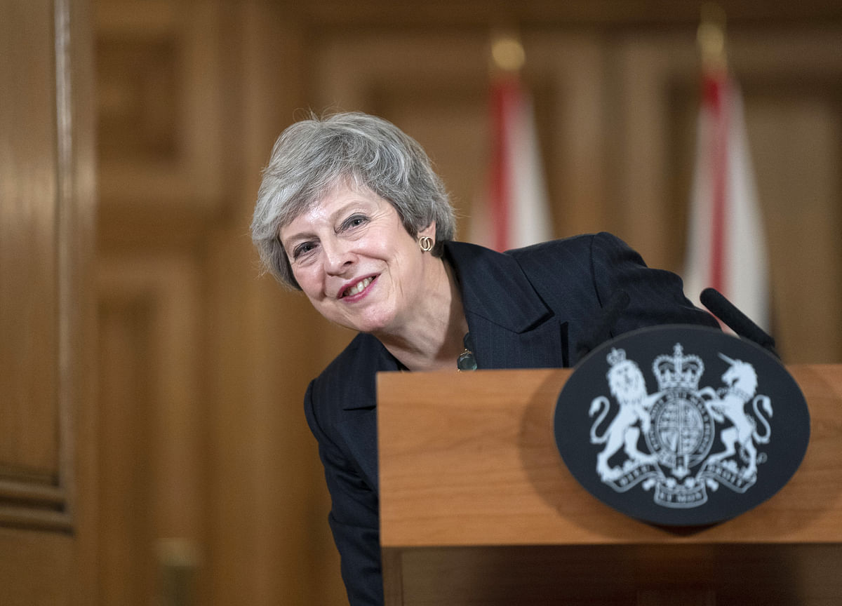 Theresa May Wins Reprieve From Tories After 'Difficult'Talks With Labour