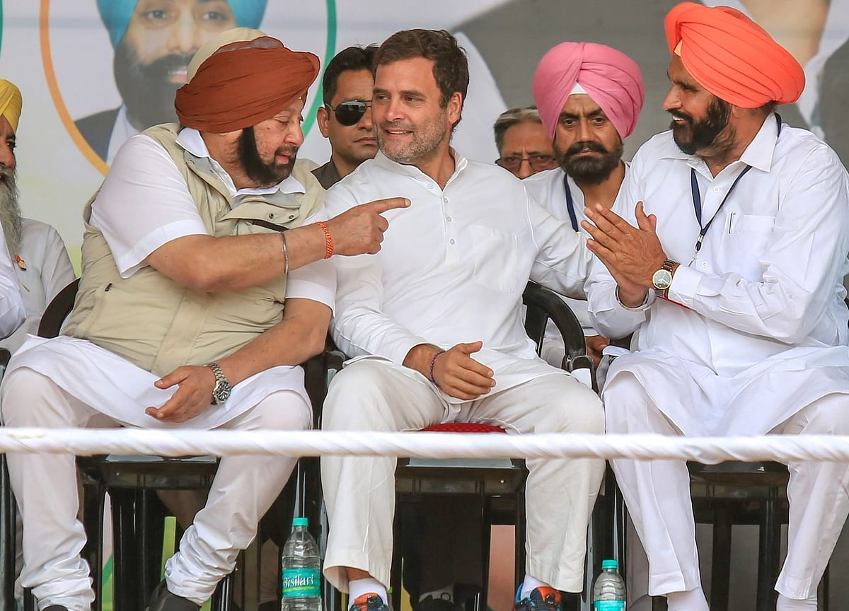 Amarinder Singh Favours Young Leader With Pan-India Appeal As Rahul Gandhi's Replacement