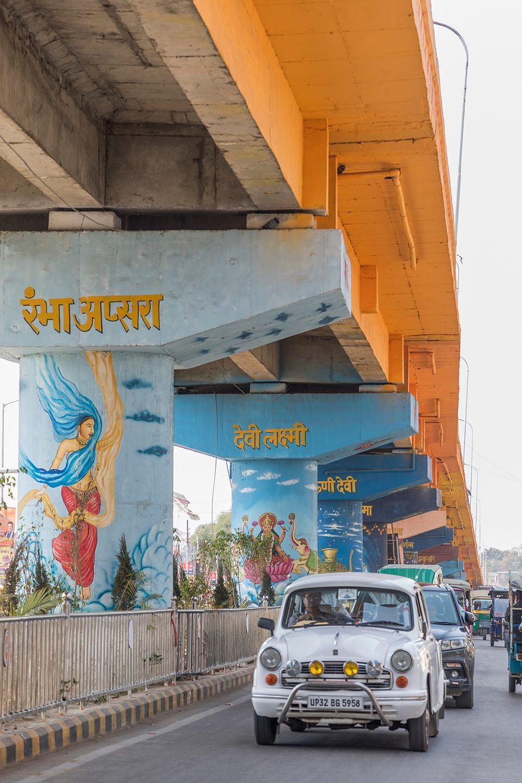 Prayagraj got a new look for the Ardh Kumbh.  (Photographer: Anshika Varma for Bloomberg Businessweek)