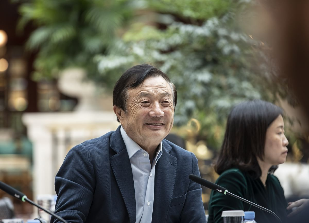 Billionaire Huawei Founder Defiant in Face of Existential Threat