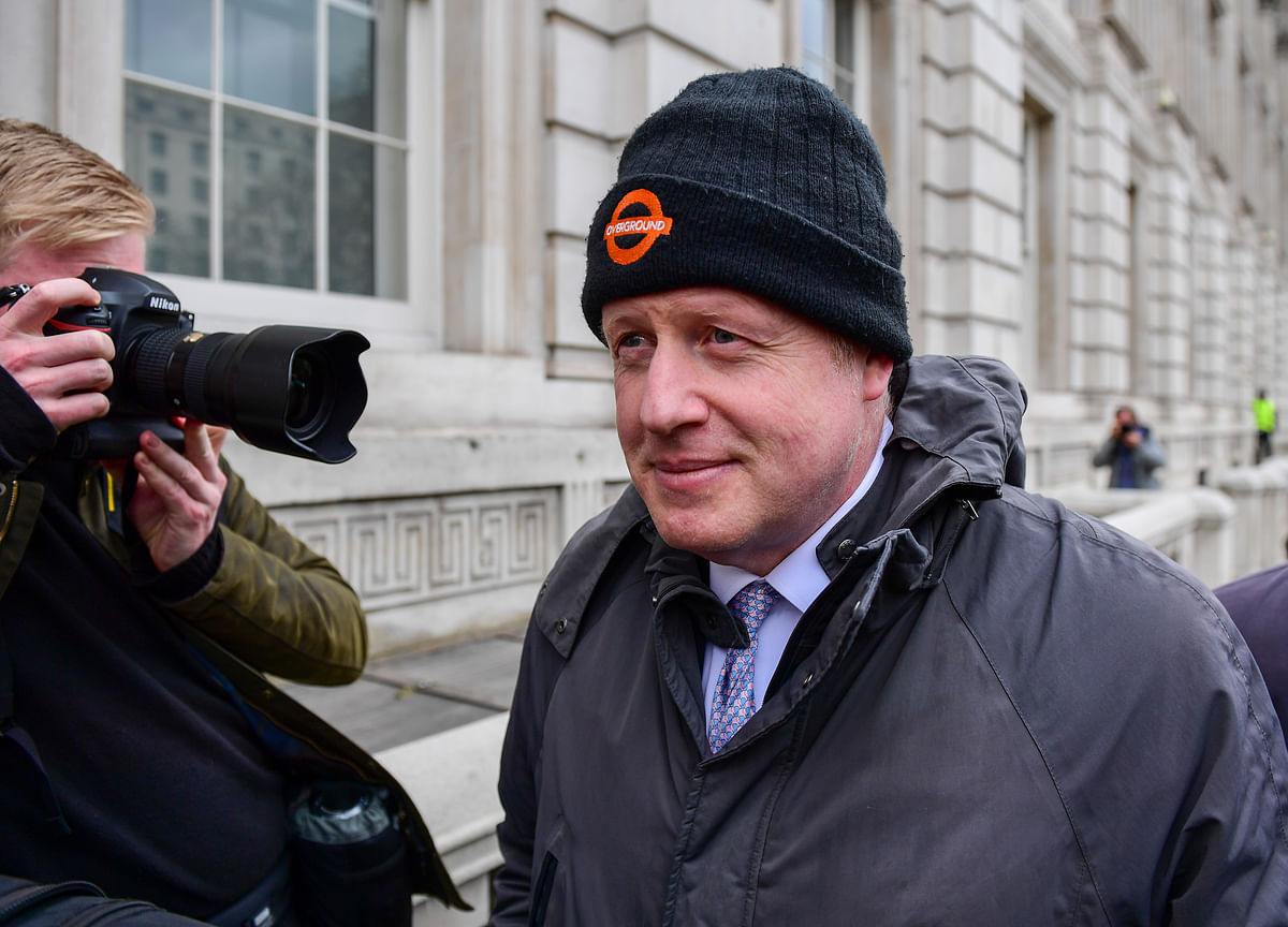Boris Johnson Is Slim, Trimmed and Ready to Fight for Power