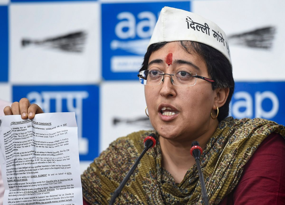 Election 2019: Atishi Accuses BJP Of Distributing Obscene Pamphlets Against Her; BJP Denies
