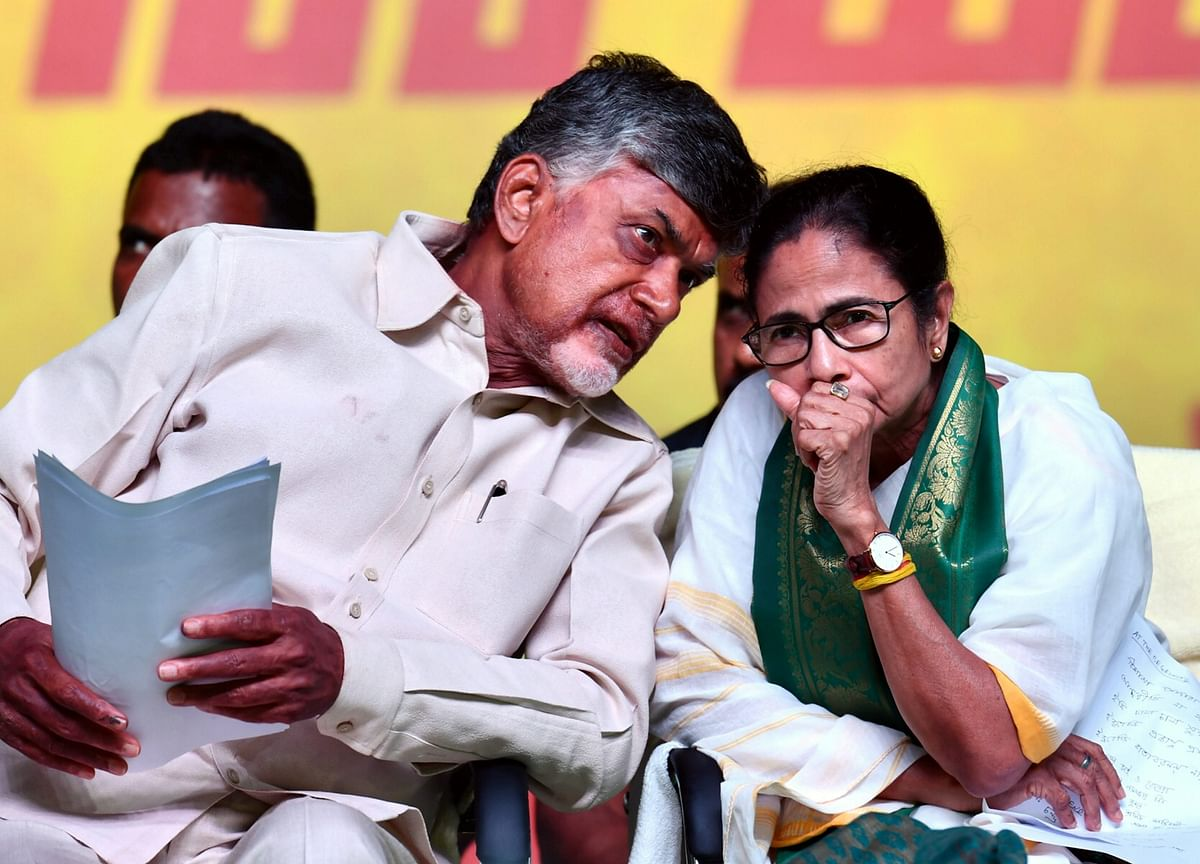 Elections 2019: Chandrababu Naidu To Meet Mamata Banerjee In Kolkata Today