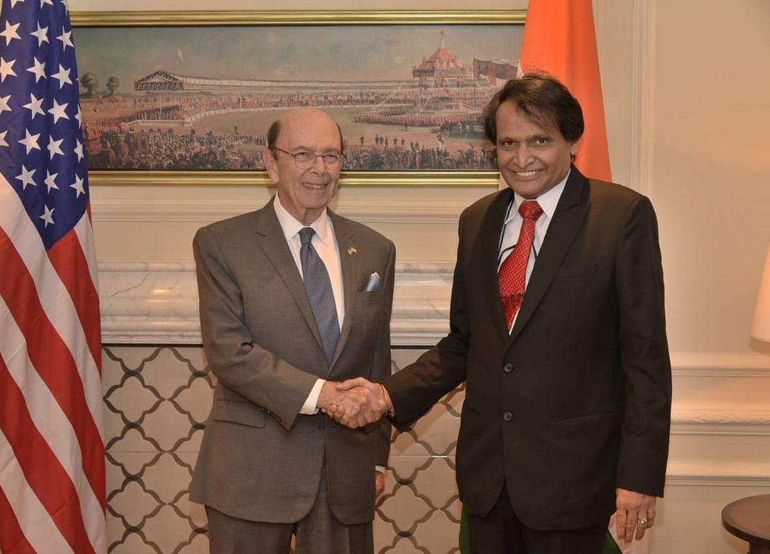 Suresh Prabhu, Wilbur Ross Discuss E-Commerce Policy And Data Localisation In Meet