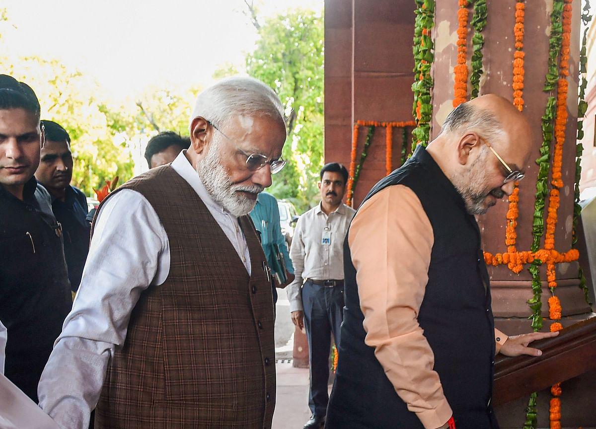 Modi Elected As Leader Of NDA
