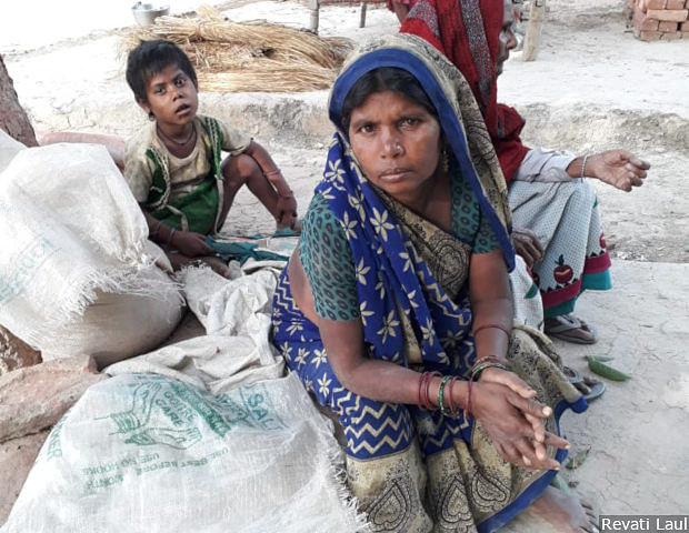 """There is a huge stray-cattle population in the village which has become a menace,"" says Suneeta in Uttar Pradesh's Jaraha village. Farmer suffer losses as the stray cattle destroy farms in the region."
