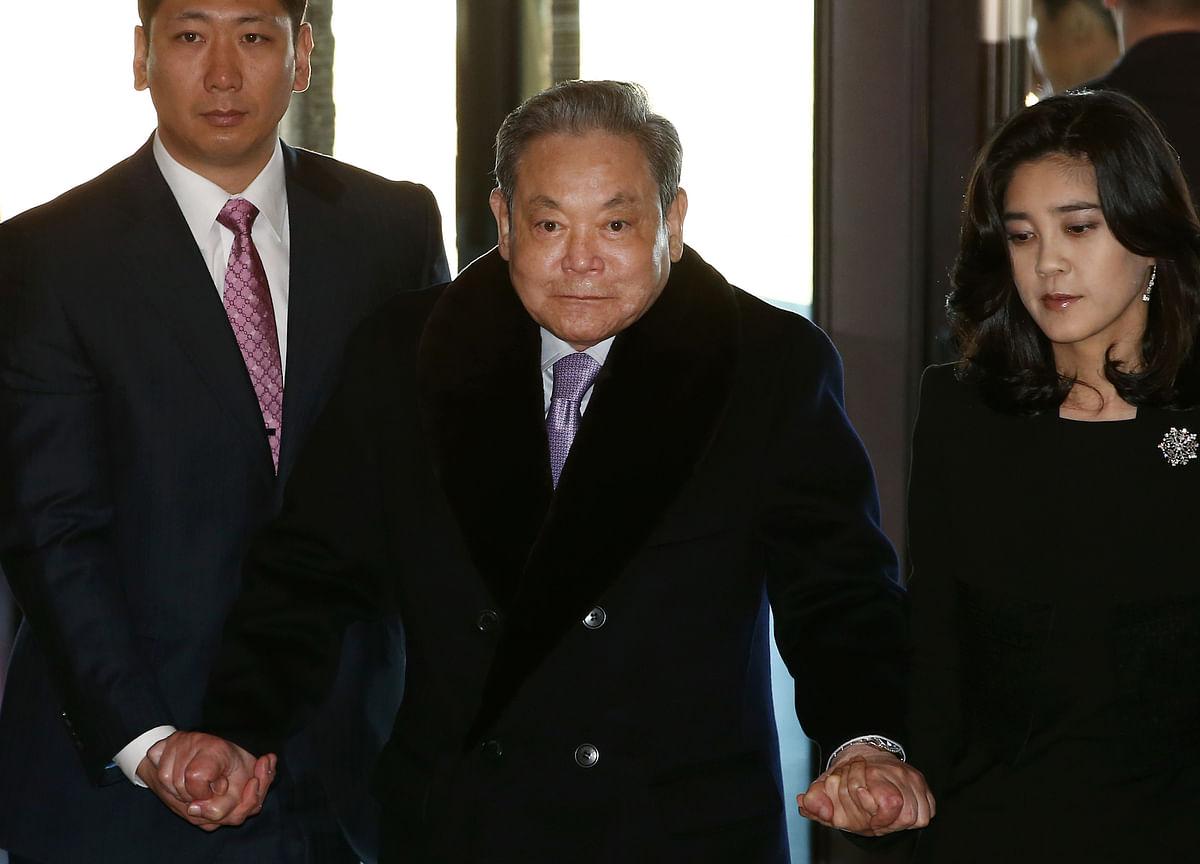 Samsung's Founding Family Faces a $7 Billion Estate Tax
